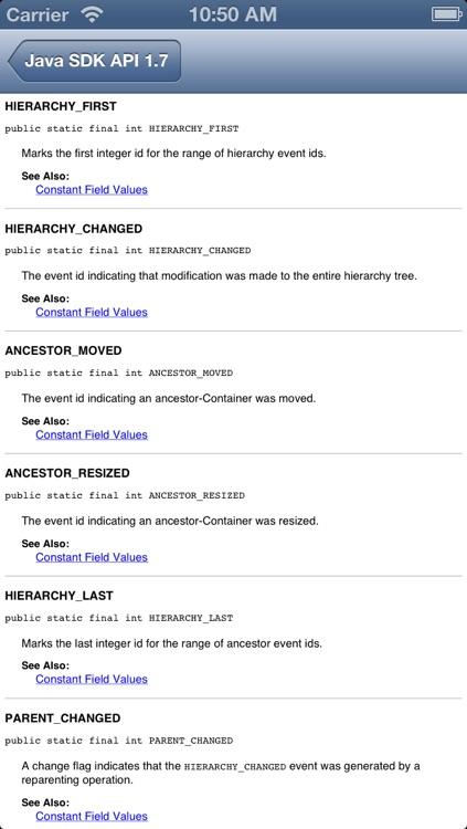Java SDK 7 API Reference screenshot-4