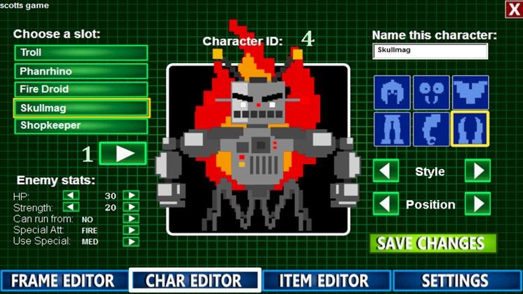 8-Bit RPG Creator Basic