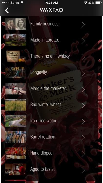 Maker's Mark® Ambassador screenshot-3