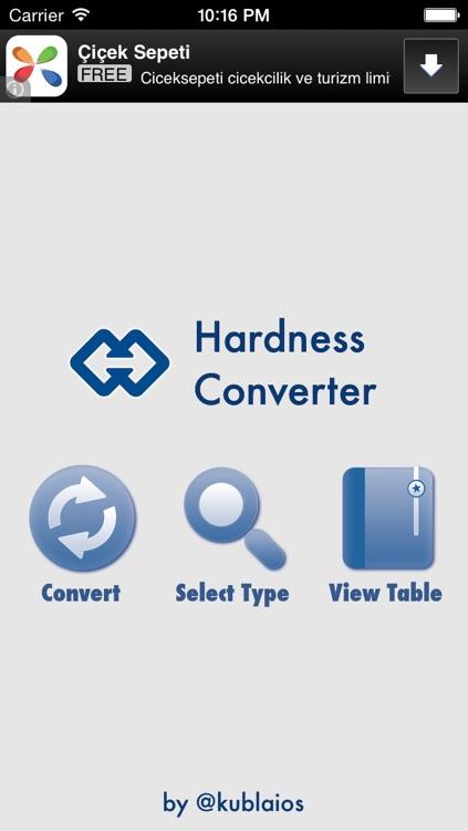 Hardness Converter Tool