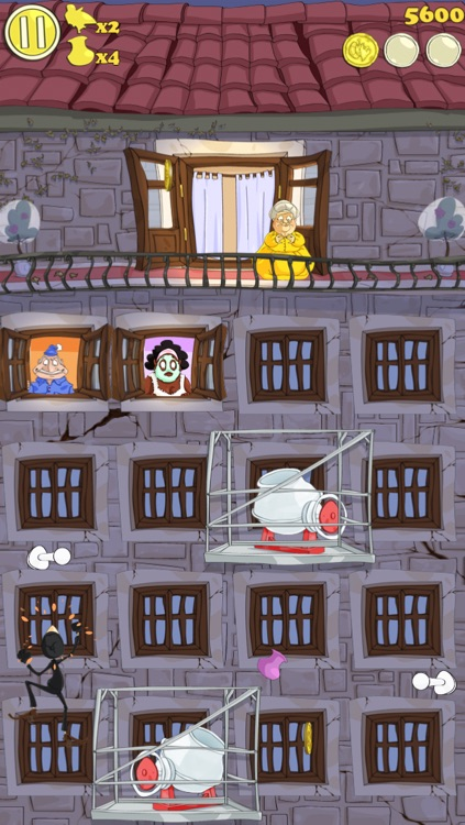 Granny and the Thief FREE screenshot-2