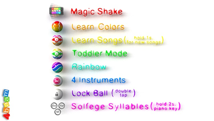 PianoBall - Fun With Learning - magic instrument for kids screenshot-4