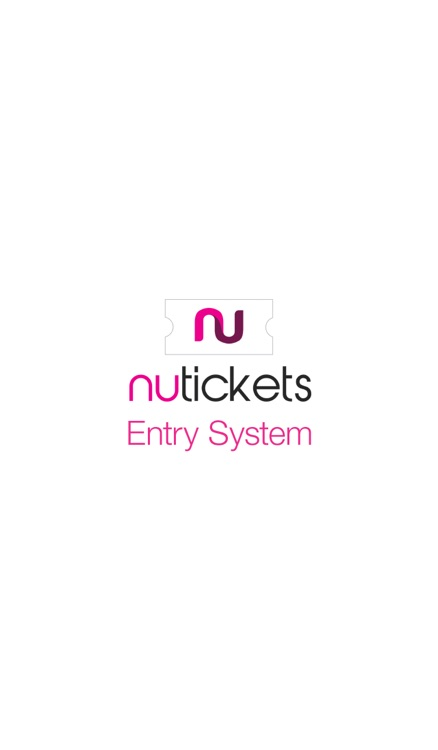 Nutickets Entry System
