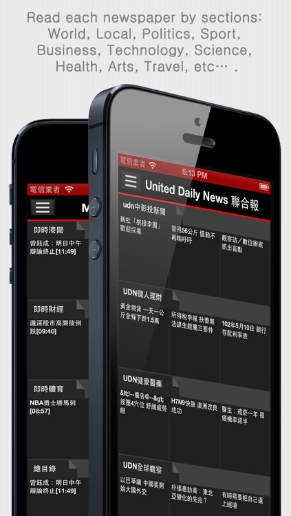 Chinese Newspapers Plus - Chinese News Plus (by sunflowerapps) screenshot-1