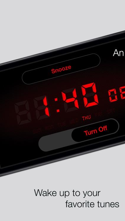 Alarm Tunes - Music Alarm Clock screenshot-3