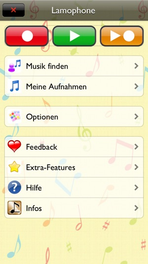 Musikinstrument - Lamophone Screenshot