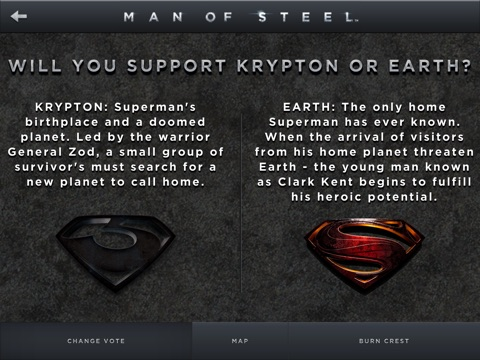 Screenshot of Man of Steel Experience