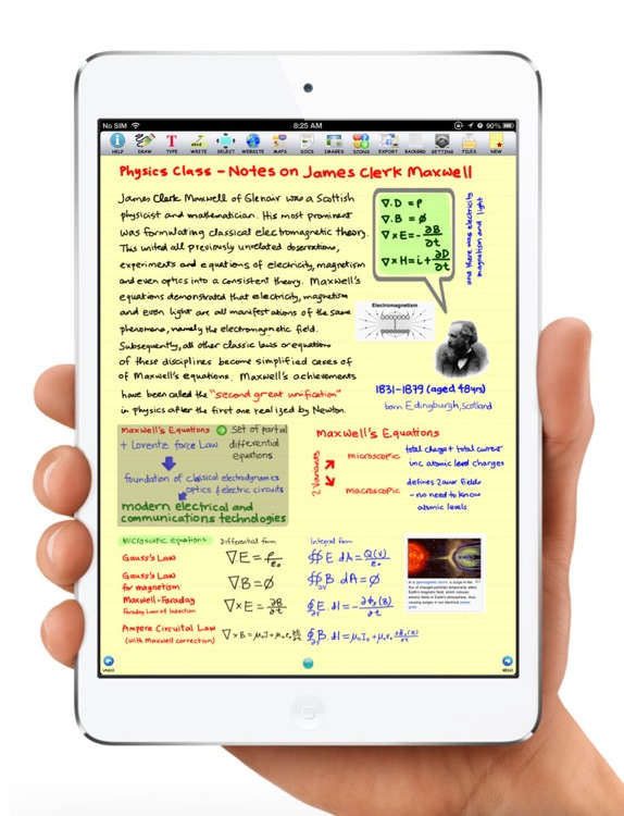 epiNote HD note taker screenshot-1