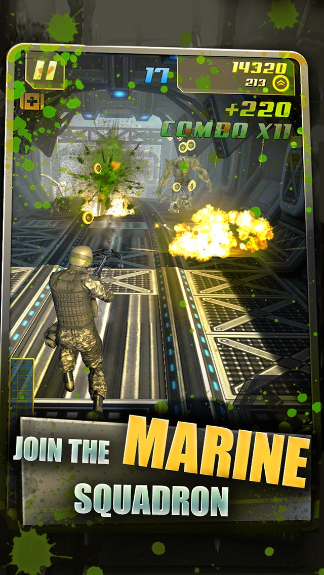 Marines vs Zombies: Apocalypse Screenshot on iOS