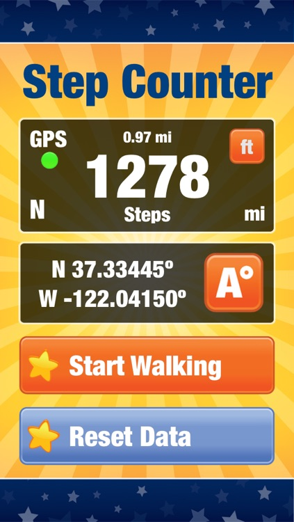 Walk Track - Steps Tracking App and Move Meter