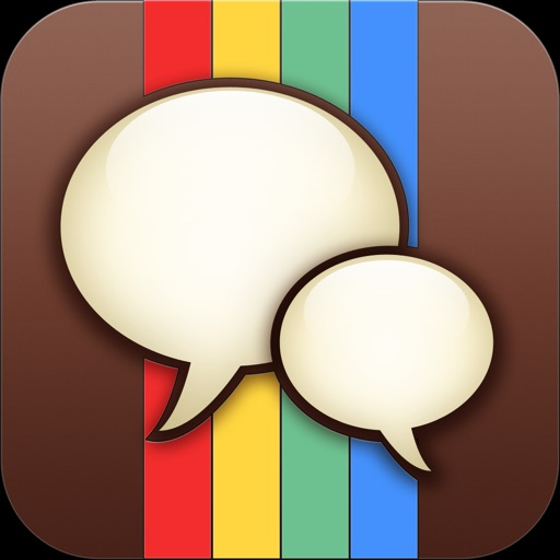 Message-Grams: Picture Text Messaging Free for Instagram icon
