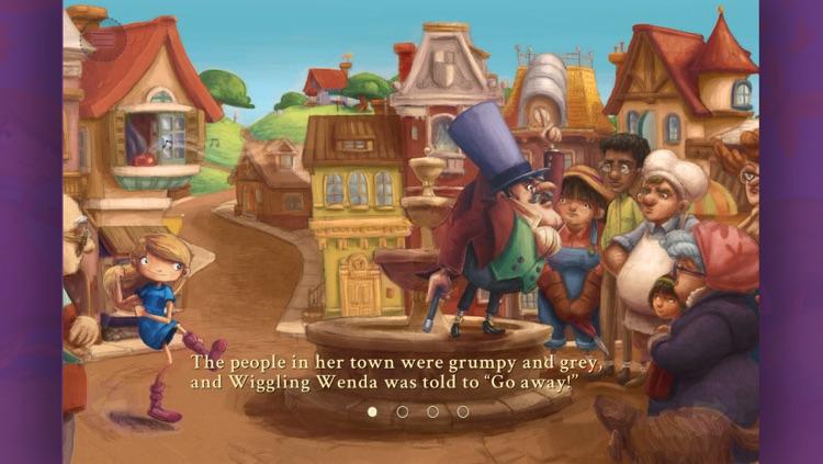 Wenda the Wacky Wiggler- Interactive Storybook
