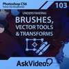 AV for Photoshop CS6 103 - Understanding Brushes, Vector Tools and Transforms - ASK Video
