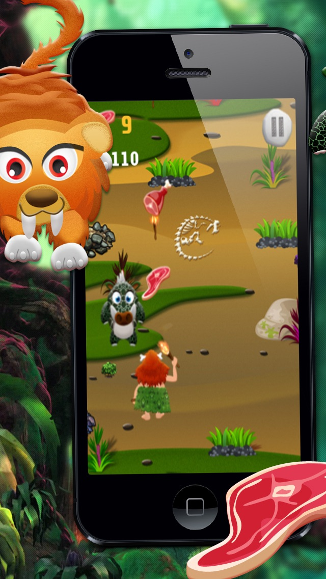 Crazy Caveman Escape PRO - A Fun Kids Game!