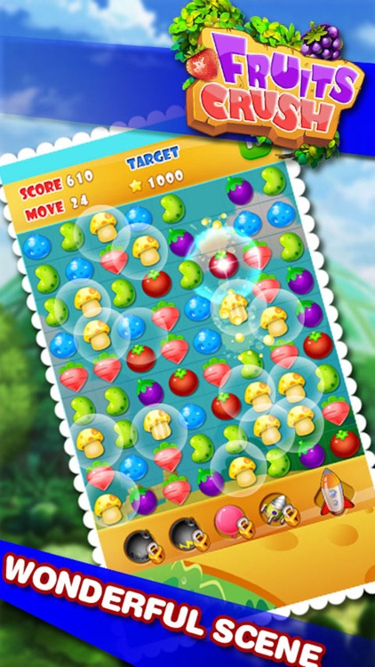 Farm Fruits Mania Bubble- Popular fruits or candy time killer casual game