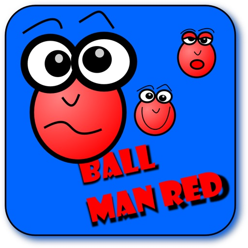 Ball Man Red (bubble game physics shooter) HD