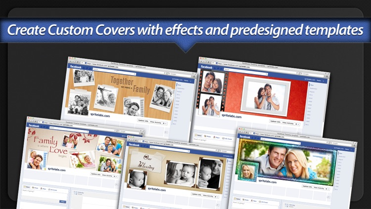 Photo Covers for Facebook: Timeline Editor