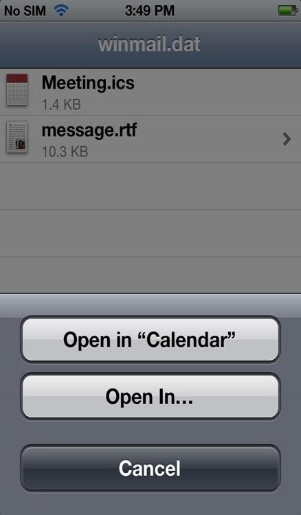 Winmail File Viewer screenshot-3