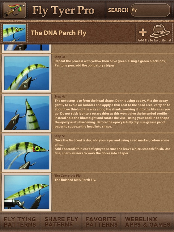 Fly Tyer PRO - Step by Step Fly Tying Patterns screenshot-4