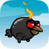 -フライングDrizzy悪旅早期小さな悪魔鳥