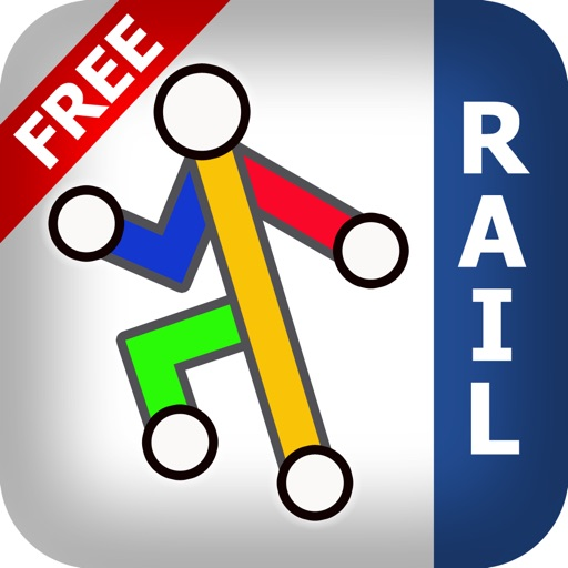 Great Britain Rail Free - Map and route planner by Zuti