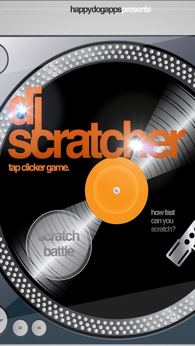 DJ Scratcher Tap Clicker Speed Mania Record Scratch Game-0