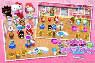 Hello Kitty Beauty Salon Seasons screenshot three
