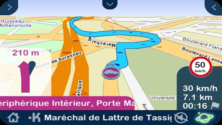 Kapten GPS multitransport France