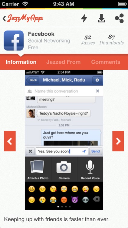 JazzMyApp screenshot-1