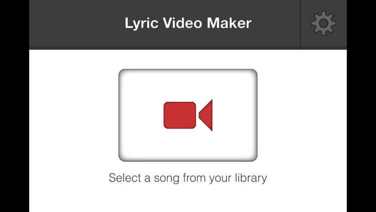 Lyric Video Maker for YouTube