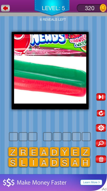 Guess the Snacks - Trivia Puzzle Quiz for Popular Famous Junk Foods and Candy screenshot-2