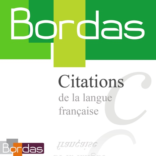 BORDAS 5000 Citations, le dictionnaire des citations de la langue française HD