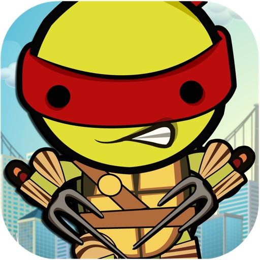 Ninja Turtle Jump - Kungfu Animal Jetpack Warrior FREE