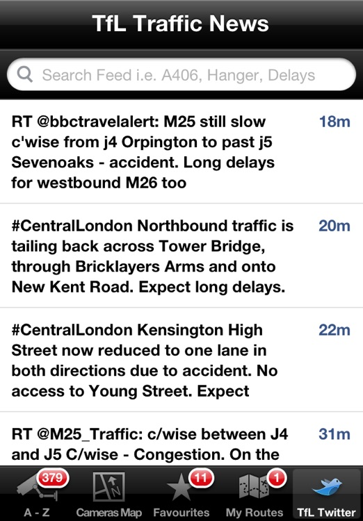London JamCams - see road congestion live screenshot-4