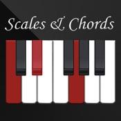 aккордов и шкалы для фортепиано