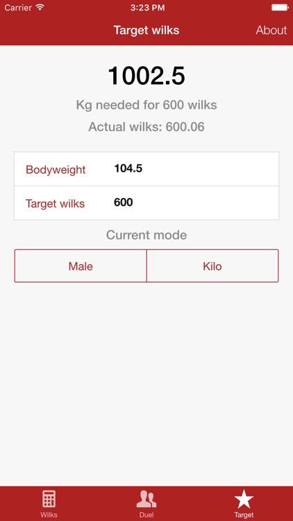 Wilks Calculator - Powerlifting screenshot-3