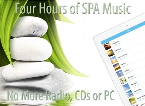 SPA Music for Relaxation and Massage Therapy screenshot