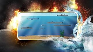 素晴らしい潜水艦戦闘艦 -無料で楽しい魚雷戦争ゲームです-のスクリーンショット3