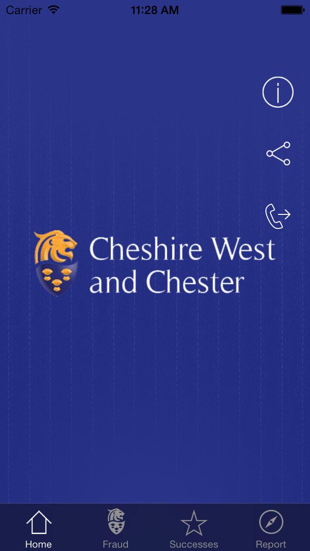 点击获取Cheshire West and Chester Fraud Reporter