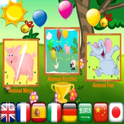 ABC Animals & Fun For Toddlers