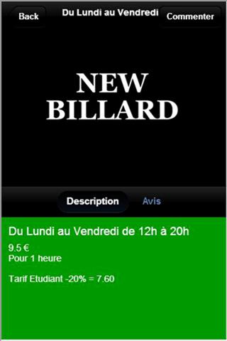 New Billard - náhled