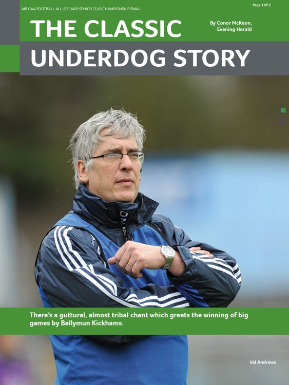 GAA Official Matchday Programmes screenshot-4