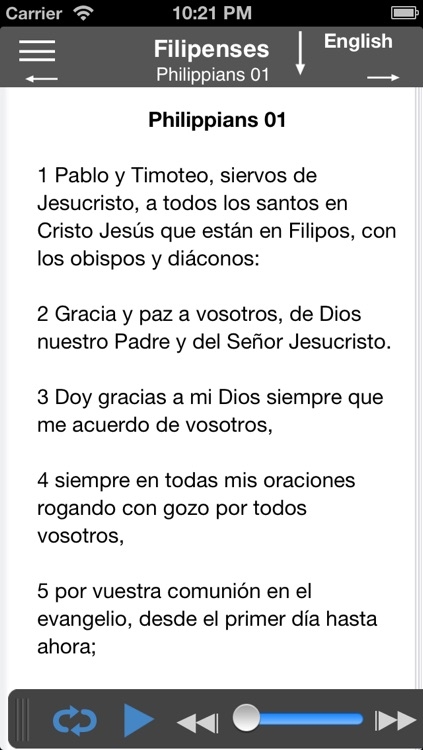 Santa Biblia Audio screenshot-4