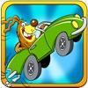 Animal mini fun car racing Games : Cut Off Free Lane To Win The Race