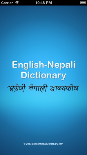 English Nepali Dictionary on the App Store