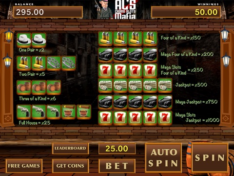 Al's Casino Slots Mafia - Free Game-ipad-4