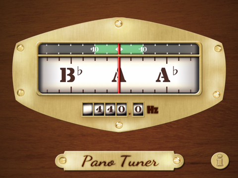 Free Chromatic Tuner: Pano Tuner screenshot