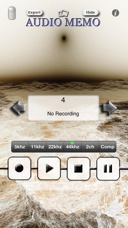 AudioMemo personal recorder