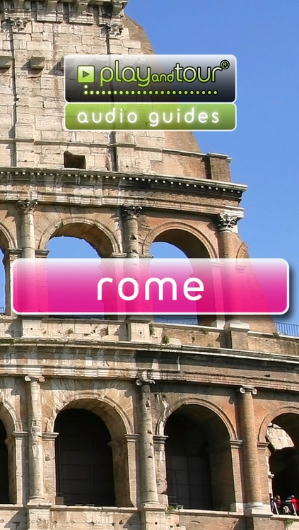 Rome touristic audio guide (english audio)