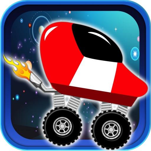 Jetpack Space Car Ride Racing - Spaceship Joyride Attack Alien Invader Pro